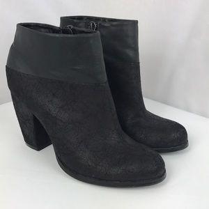 EUC Michael Antonio black ankle boots